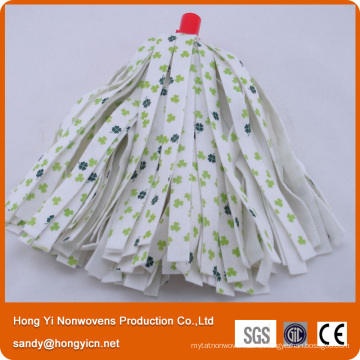 Printed Viscose Polyester Nonwoven Fabric Mop Head