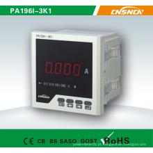 Dm96-Iframe Tamanho 72 * 72mm Preço de Fábrica Monofásico LED Display AC Medidor de Ampères Digitais, para Uso Industrial