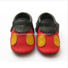 Brown 04: Sheepskin Baby Shoes