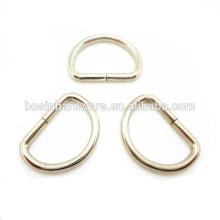 Alta qualidade em massa de metal D anel