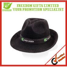 Sombrero panamá de paja promocional más popular de calidad superior