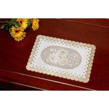 PVC Gold/Silver Lace Placemat (JFCD-005)