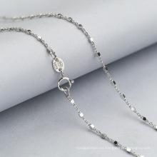 2018 collar de cadena de joyería de plata de ley 925 de moda
