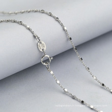 2018 Fashion 925 collier de chaîne de bijoux en argent Sterling