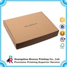 Cajas de papel corrugado personalizado impreso de alta calidad