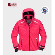 Vêtements de ski à capuchon de saling chaud en veste et pantalon de ski de haute qualité