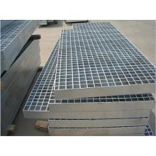 Grille en acier de vente chaude utilisée dans la couverture de fossé, couvertures, échelles