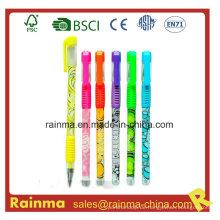 Gel Ink Pen Barrel mit schönem Design