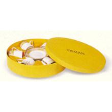 Sujetador y tapa de caramelos de cerámica