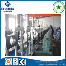 Warehouse shelving rack pillar roll forming machine