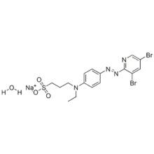 4-(3,5-DIBROMO-2-PYRIDYLAZO)-N-ETHYL-N-(3-SULFOPROPYL)ANILINE, MONOSODIUM SALT, MONOHYDRATE CAS 100743-65-5