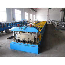 Floor Deck Roll Forming Machine Directly Input The Data On The Touch Screen