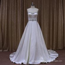 Perlen Sweetheart Fleck Hochzeit Dresss 2016