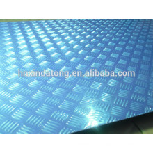 aluminium embossed plate for bus
