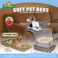 3 Way Use Cute And Warm Insulated Dog Bed Washable