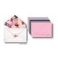 Obrigado Cartões Conjuntos Em Branco No Papel De Linho, Envelopes Decorativos E Correspondência Aniversários Adesivos & Design De Cartão De Casamento