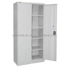 Steel Struction Double Doors Metal Filling Storage Cabinet