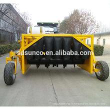 machine de compost de fumier de tracteur 3.5m