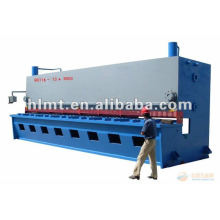 QC11Y hidráulica pé folha de metal guilhotina máquina de corte