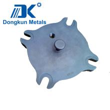 Bouchon en fonte d'acier allié par précision