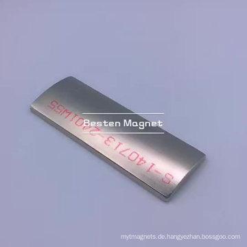 Kundenspezifische Seltenerd-Neodym-Magnete Bogensegmentmagnete