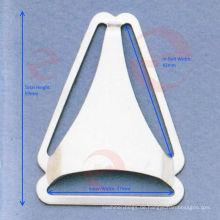 Dreieck Gürtelschnalle für Latzhose / Bekleidungszubehör (P5-96S)