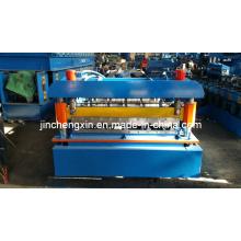 Machine de formage de rouleaux de chrome pour panneaux de tuiles et murs