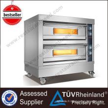 Fours pour restaurants commerciaux 4-Trays Electric Deck Oven