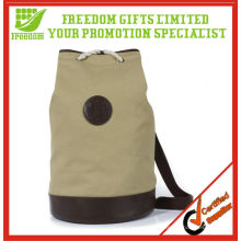 Umweltfreundliche natürliche Farbe Werbe Leinwand Duffle Bag