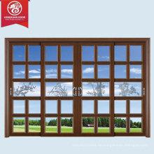 Endlos Option Composite Materialien Türen & Fenster, Französisch Fenster Grill Design, Aluminium Glas Tür