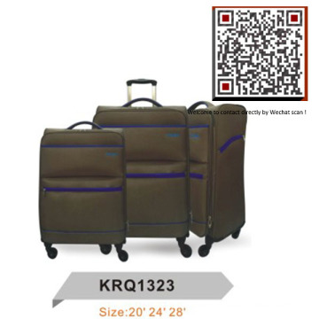 Light Weight 4wheels EVA Inside Trolley Soft Luggage (KRQ1323)