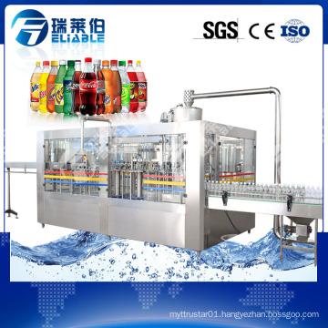 Complete Carbonated Beverage Plant for Beverage Production Line