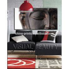 O grande Buddha esticou cópias da lona com ARTE do quadro