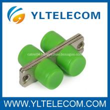 FC - APC Ceramic Sleeve Fiber Optic Adapter , fiber optic connector adapters