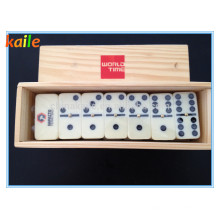 Domino With Wooden Box