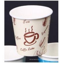 Taza de papel impresa doble del PE, tazas de papel modificadas para requisitos particulares del logotipo