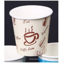Double PE Printed Paper Cup, Customized Logo Paper Cups