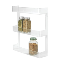 Wall Mount Spice Organizer Rack Kitchen Storage