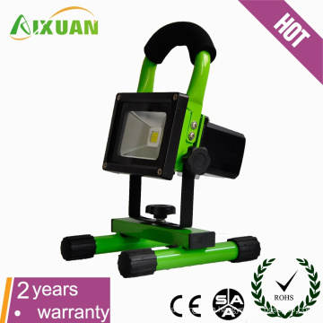 high brightness 20W 8H rechargeable led flood light