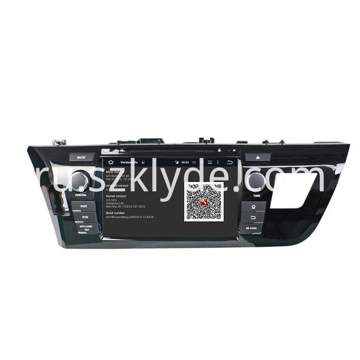 Toyota LEVIN CAR DVD PLAYER (3)