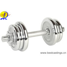De alta calidad 10-40kg pesa de pesas cromada ajustable