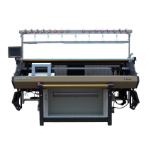 Computerized Jacquard Flat Knitting Machine for Shoe Vamp