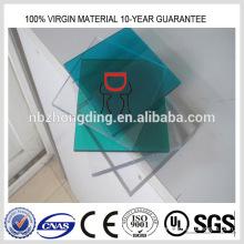 feuille de polycarbonate transparente d'excellente qualité
