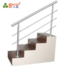 foshan New arrivals column decorative 304 Stainless Steel Baluster For Interior Stair Railings outdoor ss post
