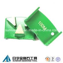 Piso de concreto HTC Diamond segmento com 3 segmentos de moagem
