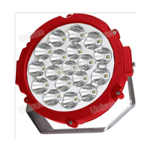 "12V 8 ""90W CREE LED hors route Spotlight"