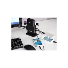 ORICO 7 ports USB3.0 HUB avec câble USB3.0 de 3.3Ft / 1M et adaptateur secteur 12V3A - noir (DH7C2)