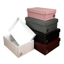 Lid and Base open both folded Rigid paper Gift box Manufacturer lowest price High end color printing cardboard custom design box
