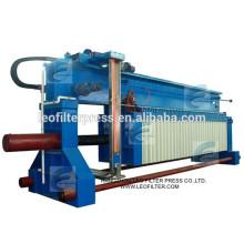 Filtro Leo prensa de filtro hidráulico automático sobre la viga de gran tamaño