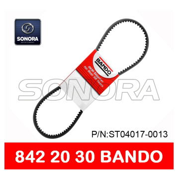 BANDO DRIVE BELT V BELT 842 x 20 x 30 SCOOTER MOTORCYCLE V BELT CALIDAD ORIGINAL